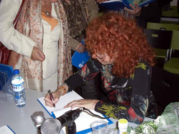 Presentación libro Conchas en Barcelona
