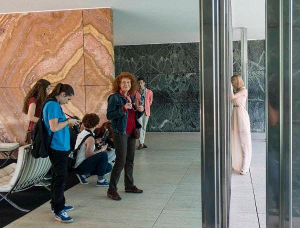 Making off Mies van der Rohe. Fina Lunes docencia.