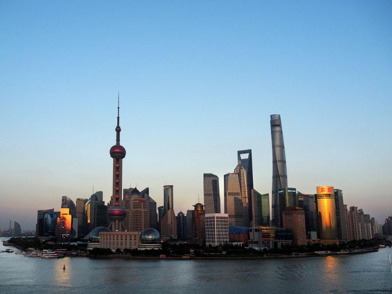 Shanghai atardecer Fina Lunes